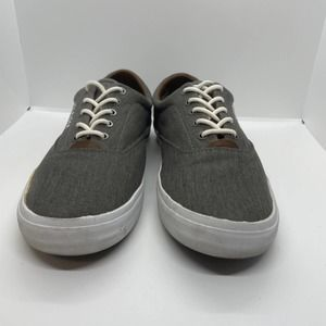 TOMMY HILFIGER Mens Gray Phelipo Shoes size 8